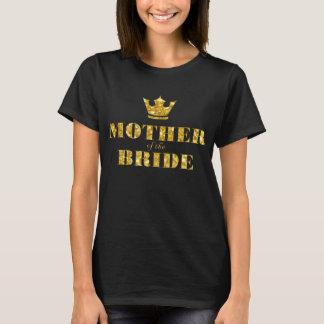 T-shirt Mère de la jeune mariée