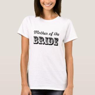 T-shirt Mère de la noce de jeune mariée