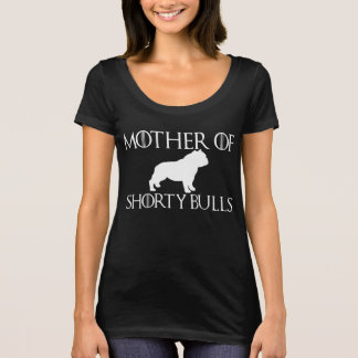T-shirt Mère de noir de taureaux de petit