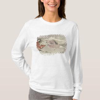 T-shirt Mère et enfant sur un divan