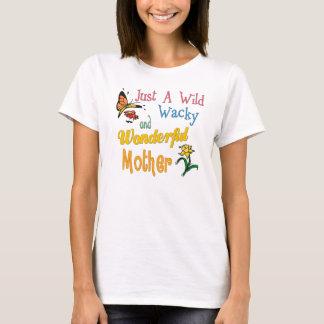 T-shirt Mère merveilleuse farfelue sauvage