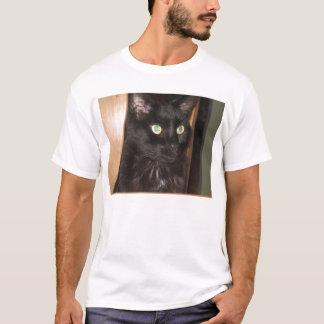 T-shirt MERLIN le chat noir