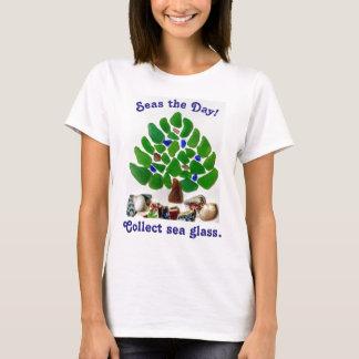 """T-shirt """"Mers drôles le jour ! Arbre rassemblez de mer en"""