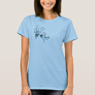 T-shirt Mes amis pwn. d'URL