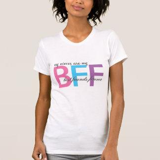 T-shirt Mes nièces sont ma chemise de BFF
