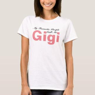 T-shirt Mes personnes préférées m'appellent chemise de