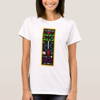 T-shirt Message d'alien d'Arecibo M13
