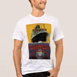T-shirt Messageries Maritimes