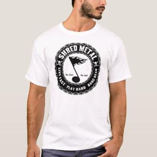 T-shirt Métal de lambeau