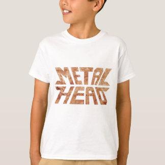 T-shirt MetalHead rouillé