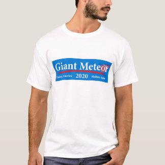 T-shirt Météore géant 2020 Amérique de fabrication fondue