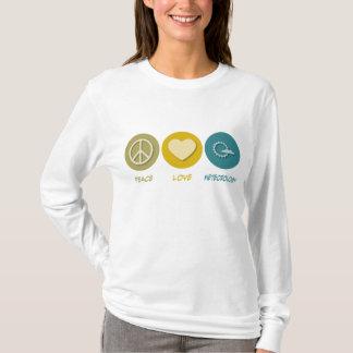 T-shirt Météorologie d'amour de paix