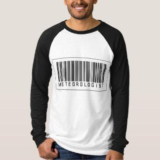 T-shirt Météorologiste de code barres