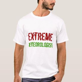 T-shirt Meterologist extrême, tempête, chasseur, tornade,