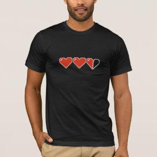 T-shirt mètre du coeur 8bit