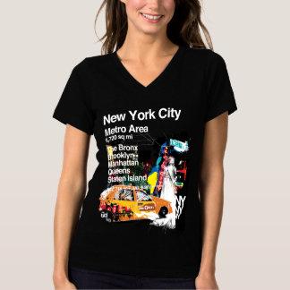 T-shirt Métro New York City