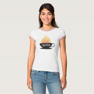 T-shirt Mettez à feu : La chemise de la sonnerie de la