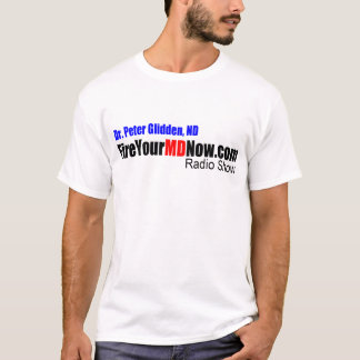 T-shirt Mettez le feu à votre émission de radio de DM