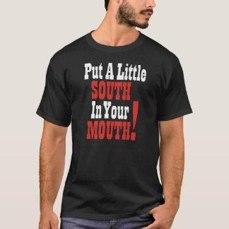 T-shirt Mettez un peu de sud dans votre bouche