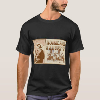 T-shirt mexicain de Secruity de patrie