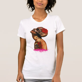 T-shirt mexican woman