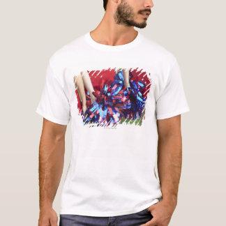 T-shirt Mi vue de section de trois majorettes