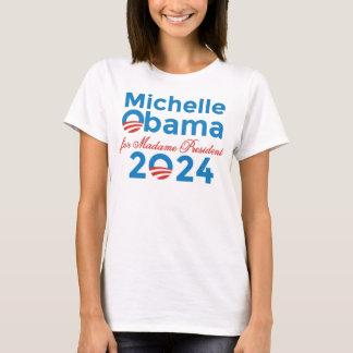 T-shirt Michelle Obama pour la Madame le président 2024