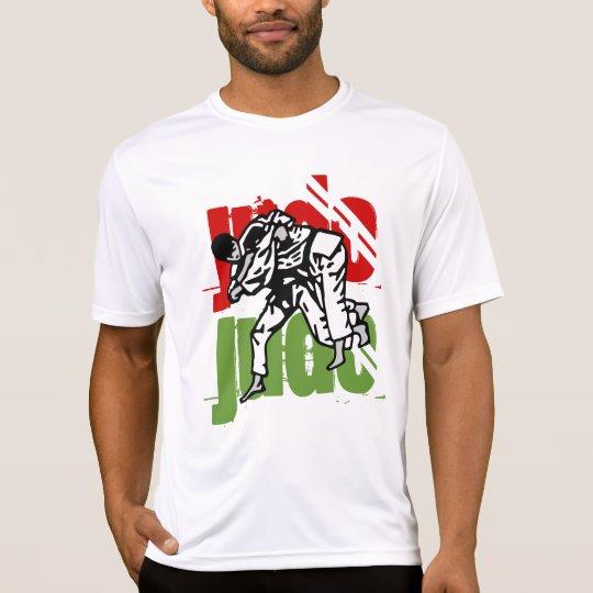 t-shirt microfibre judo