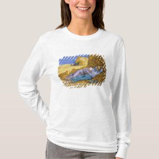 T-shirt Midi de Vincent van Gogh |, la sièste, après