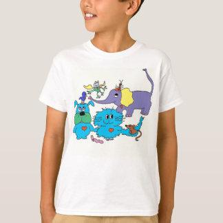 T-shirt mignon d'animaux