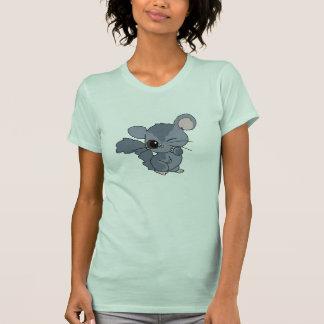 T-shirt mignon de chinchilla