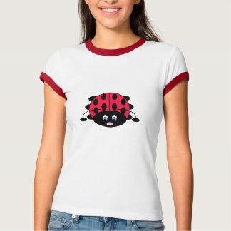 T-shirt mignon de coccinelle