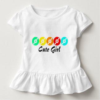 T-shirt mignon de fille