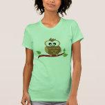 T-shirt mignon de hibou