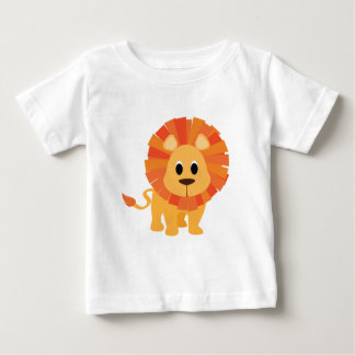 T-shirt mignon de lion