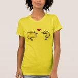 T-shirt mignon de macaronis et de fromage