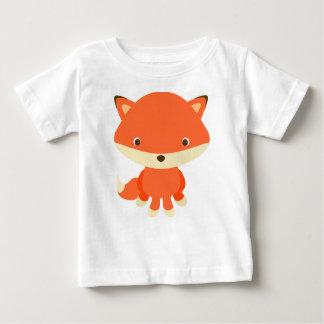 T-shirt mignon de renard de bébé