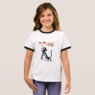T-shirt mignon de singe