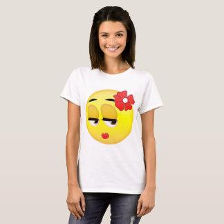 T-shirt mignon d'Emoji de fille