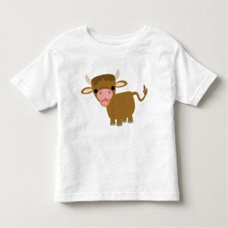 T-shirt mignon d'enfants de boeuf de bande