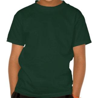 T-shirt mignon d'enfants de cheval de Shire de ban