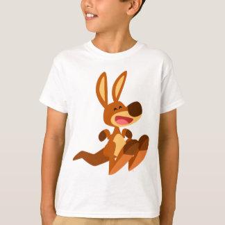 T-shirt mignon d'enfants de Joey de kangourou de