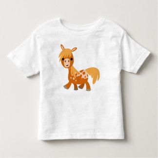 T-shirt mignon d'enfants de poney d'Appaloosa de