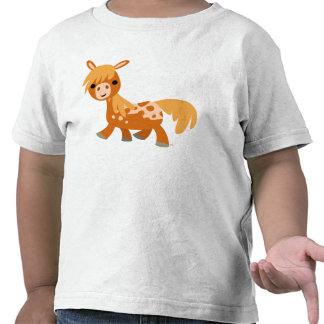 T-shirt mignon d'enfants de poney d'Appaloosa de b