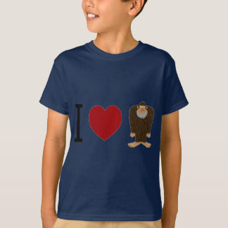 T-shirt MIGNON ! J'AIME la conception de <3 BIGFOOT -