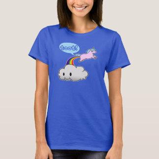 T-shirt Mignon ! Pet de licorne… Appel !