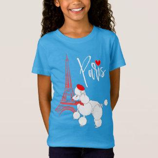 T-Shirt Mignon superbe de caniche français de Paris