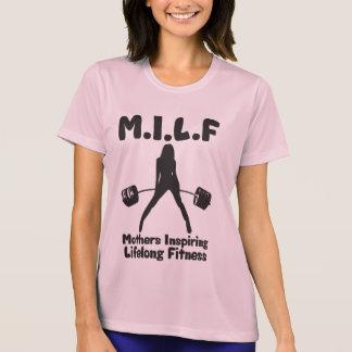 T-shirt MILF - Enfante la forme physique perpétuelle de