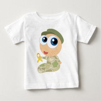 T-shirt militaire de bébé