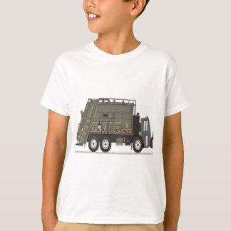 T-shirt Militaires de camion à ordures